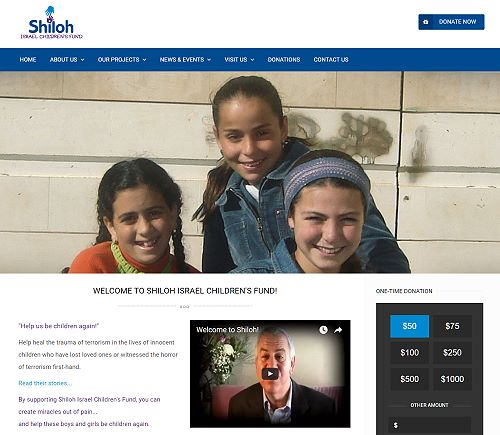 Shiloh Israel Childrens Fund Main Site