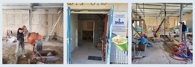 Therapy Centre Construction Photos